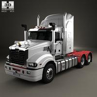 mack trident axle model