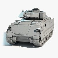 infantry vehicle m2a2 bradley 3D model