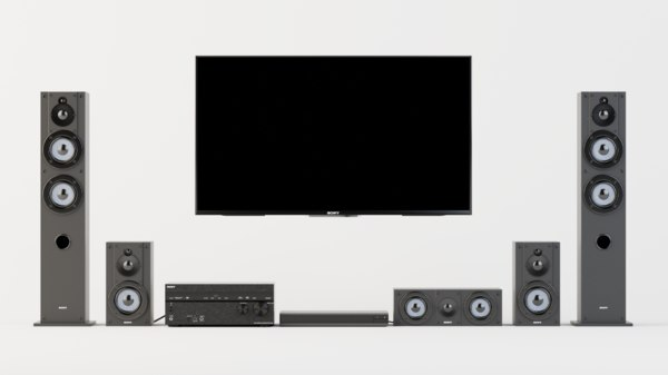3D sony 7 2 channel