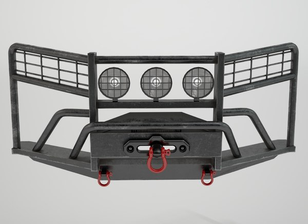 car bumper 3D model