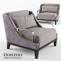 smania dorothy armchair 3D model