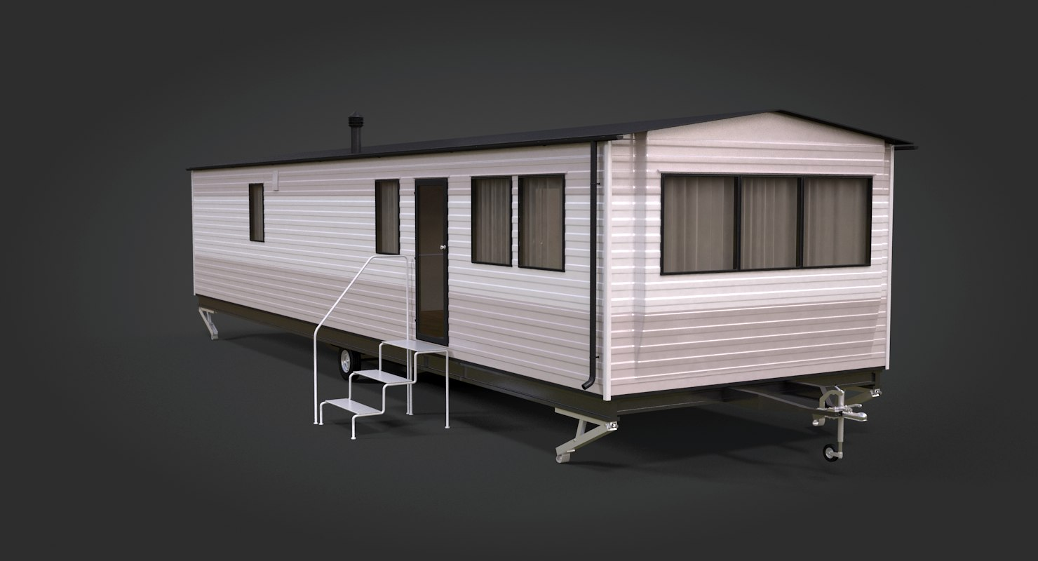 3D mobile home