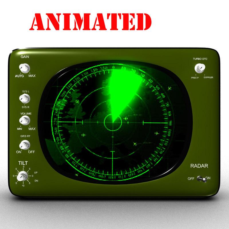 radar screen 3D