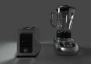 3D toaster blender
