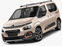 3D citroen berlingo xtr