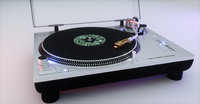 Technics Turntable (Vinyl Record Player)