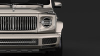 mercedes maybach g 600 3D model