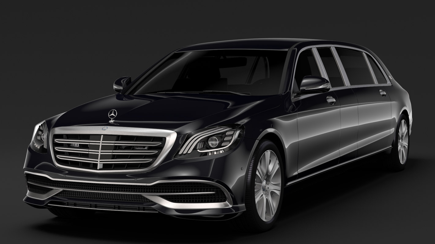 3D mercedes maybach s 650 model