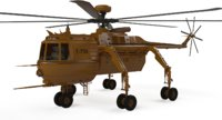 cargo helicopters 3D