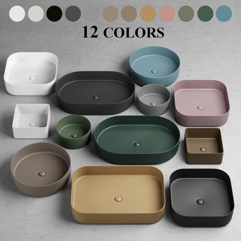 Shui Comfort Washbasin 3d Model Turbosquid 1279758