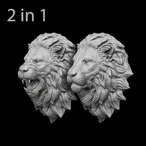 lion head 3D
