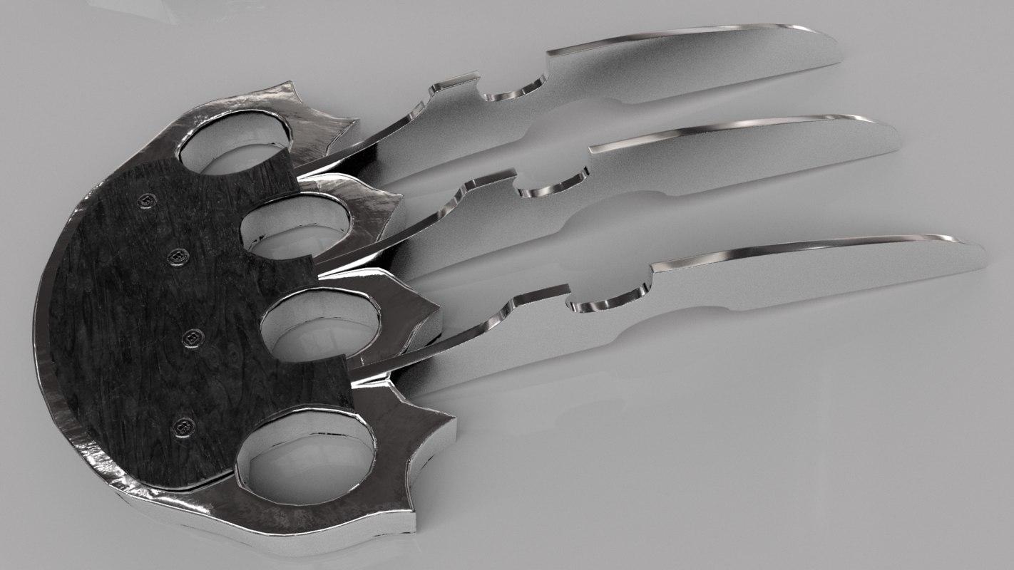 claw pantera 3D model
