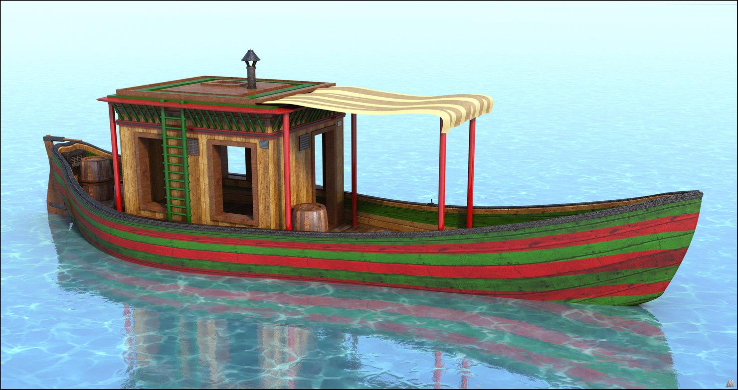 vehicle watercraft ship 3D