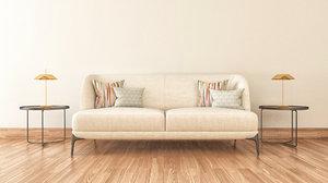 3D scene sofa coffee