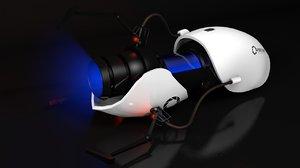 3D model portal gun