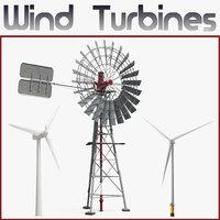 3D wind turbines 2