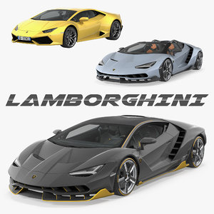 lamborghini cars huracan 3D model