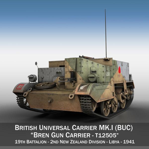 bren gun carrier - model