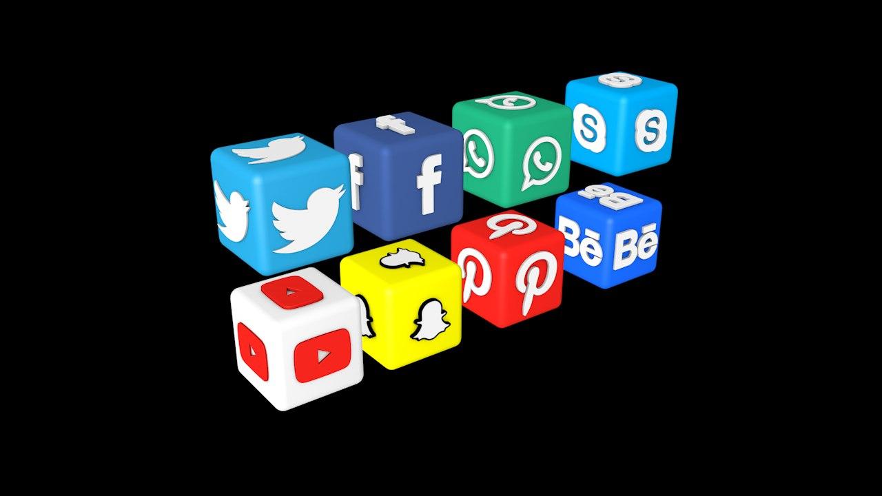 facebook twitter youtube skype model