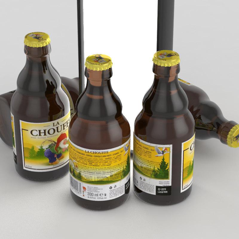 beer beverage 3D