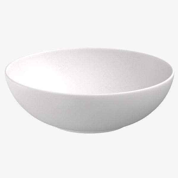 3D model modern tableware bowl