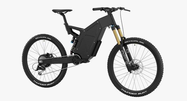 3D electric bike 3 model