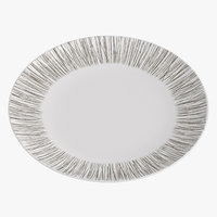contemporary tableware dinner plate 3D