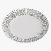 contemporary tableware dinner plate 3D