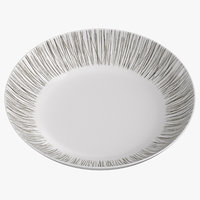 Contemporary Tableware Low Bowl