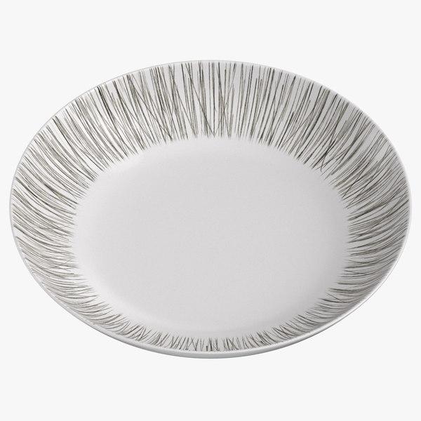 contemporary tableware bowl 3D model