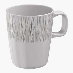 contemporary tableware mug 3D model