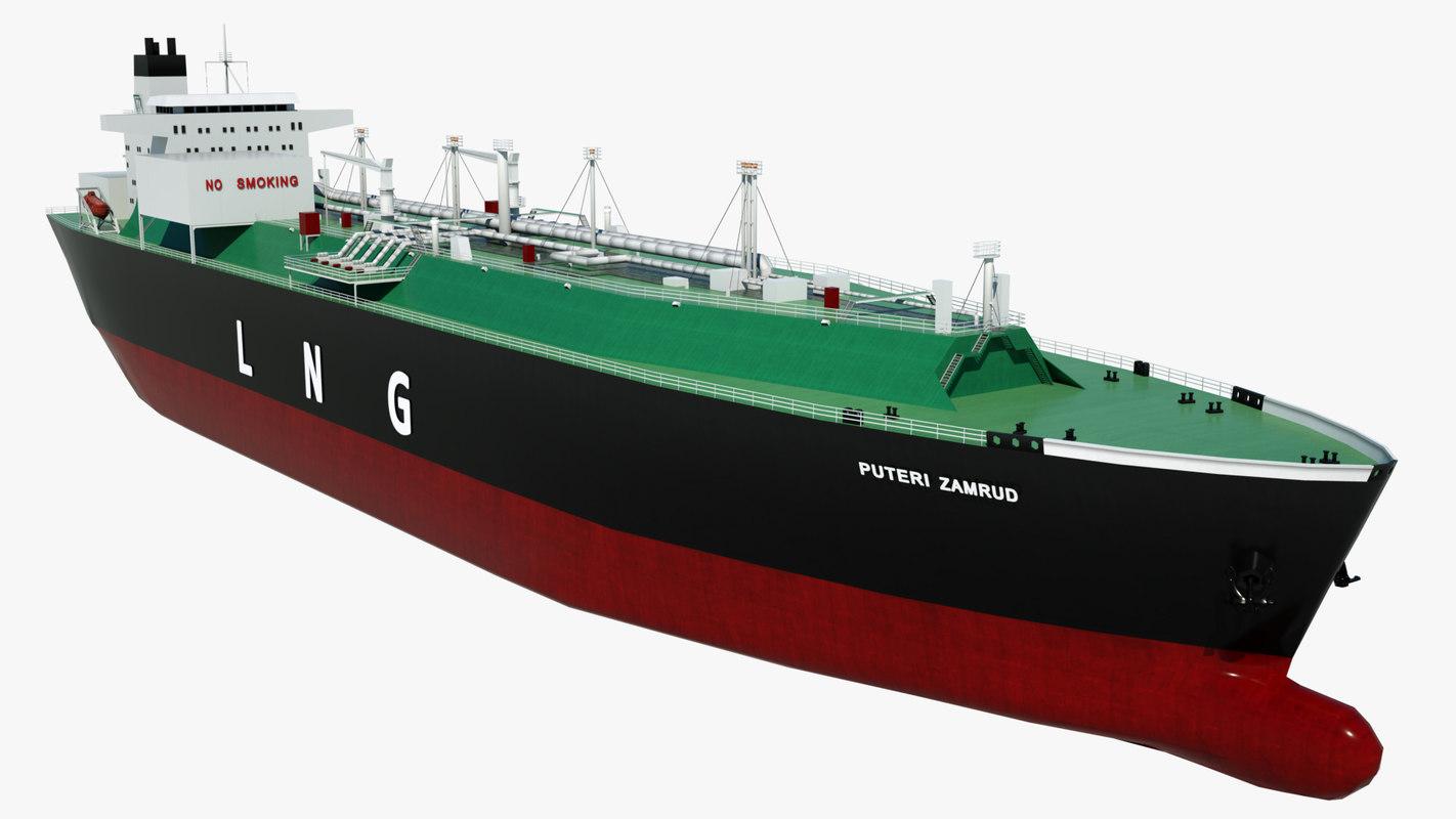 oil tanker puteri zamrud 3D