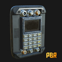 3D military scrambler device decryptor