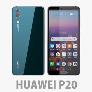 huawei p20 20 3D