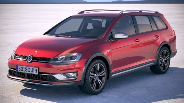 volkswagen golf alltrack 3D model