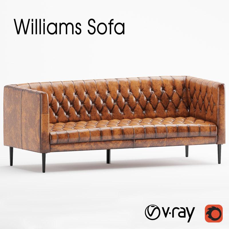 3D sofa williams