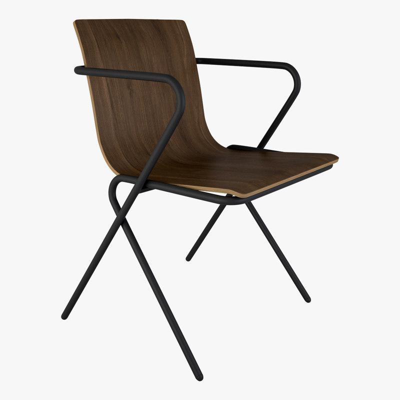 3D perluette chair