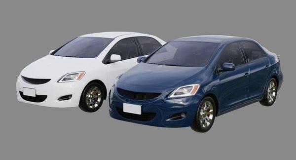 car generic 1a 3D model