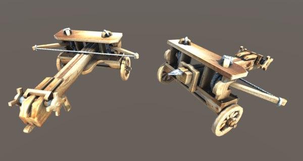 medieval ballista 3D