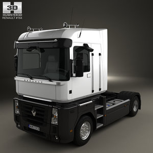 renault magnum tractor model