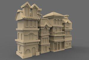 house street 3D