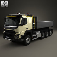 fmx tridem tipper model