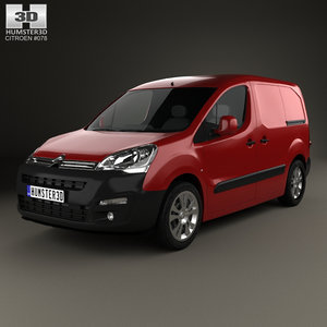 3D citroen berlingo panel