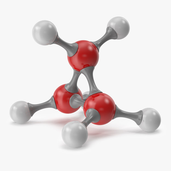 3D molecule chemistry science model
