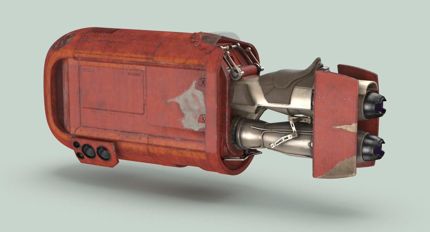 Rey's Speeder Bike (force awakens)