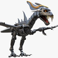 robot dragon model