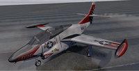 plane north american t-2c 3D model