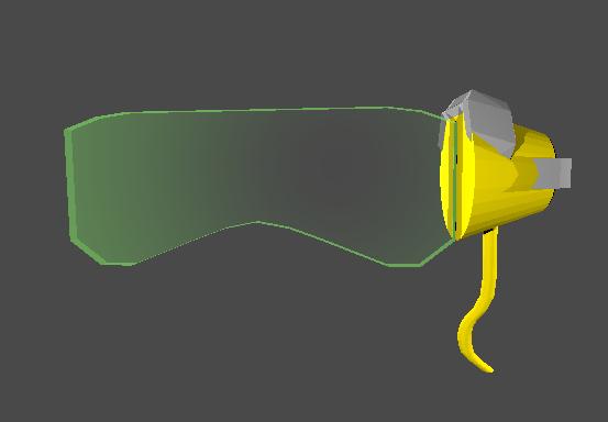 lucio s glasses overwatch 3D model