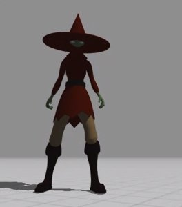 3D magical explorer red model