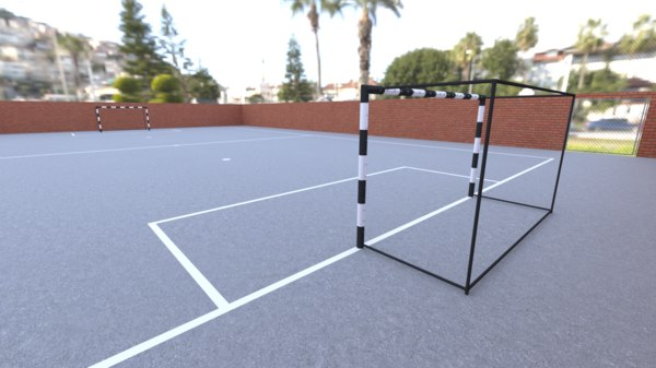 3D street soccer included unity3d